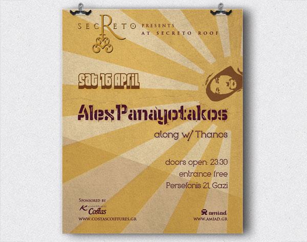 Alex Panayotakos Posters