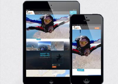 Skydive Greece Website