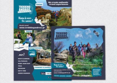 Trekking Andros Prints
