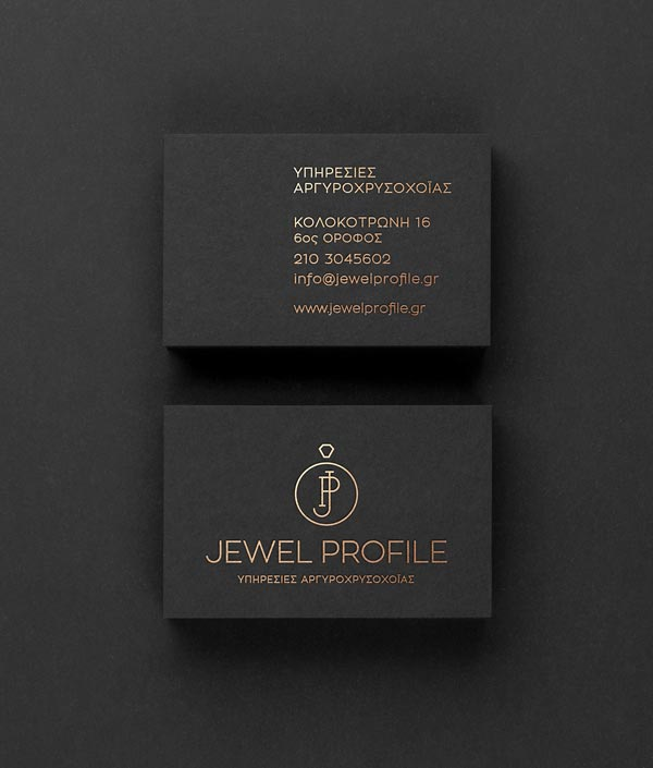 Jewel Profile Business Card