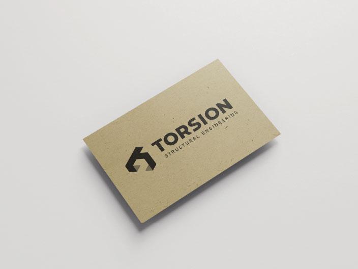 Torsion Business Card Front