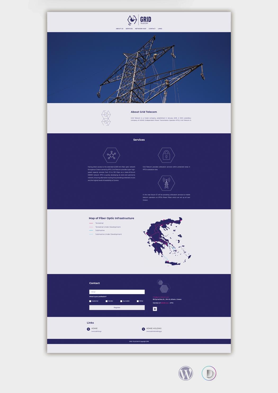 Grid Telecom Website