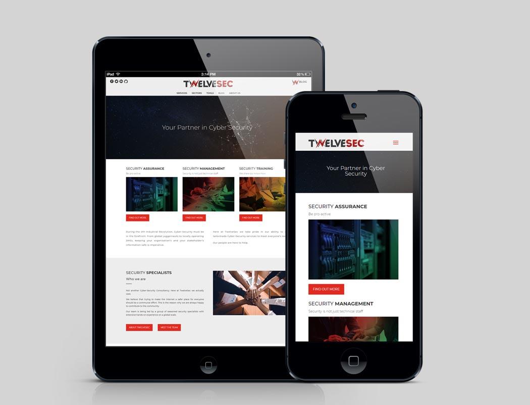 Twelvesec Website
